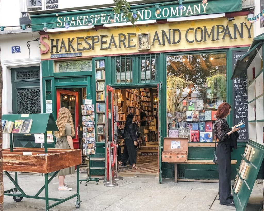 How to Make the Best of 48-Hours in Paris, France. Shakespeare and Company. Wander around Latin Quarter.