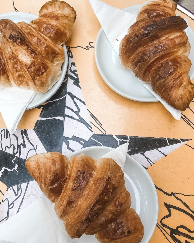 How to Make the Best of 48-Hours in Paris, France. French croissant. Treize Bakery. Where to eat in Paris, France.