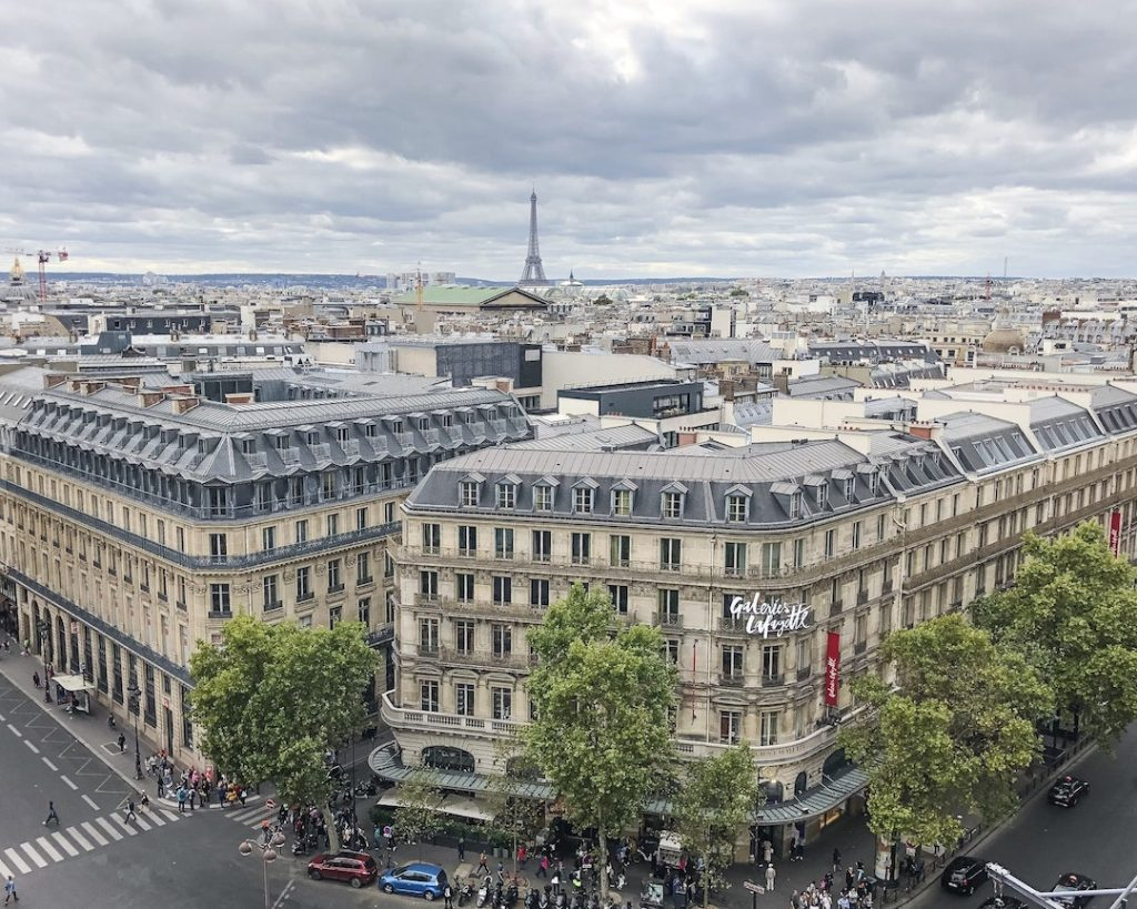 How to Make the Best of 48-Hours in Paris, France. Best Eiffel Tower photo spots. Galeries Lafayette. Best views in Paris. Where to do in Paris.