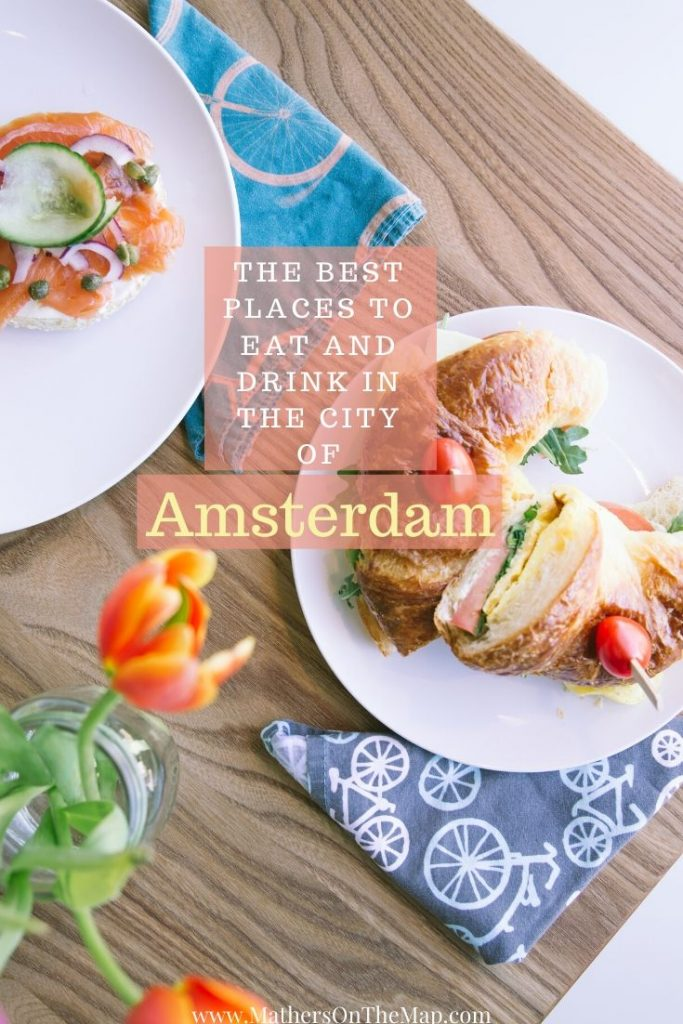 The Best Places to Eat and Drink in the City of Amsterdam. Where to eat in Amsterdam. Where to drink in Amsterdam. Stroopwaffle. Dutch Breweries. The Pancake Bakery. Bakers & Roasters. The Heineken Experience.