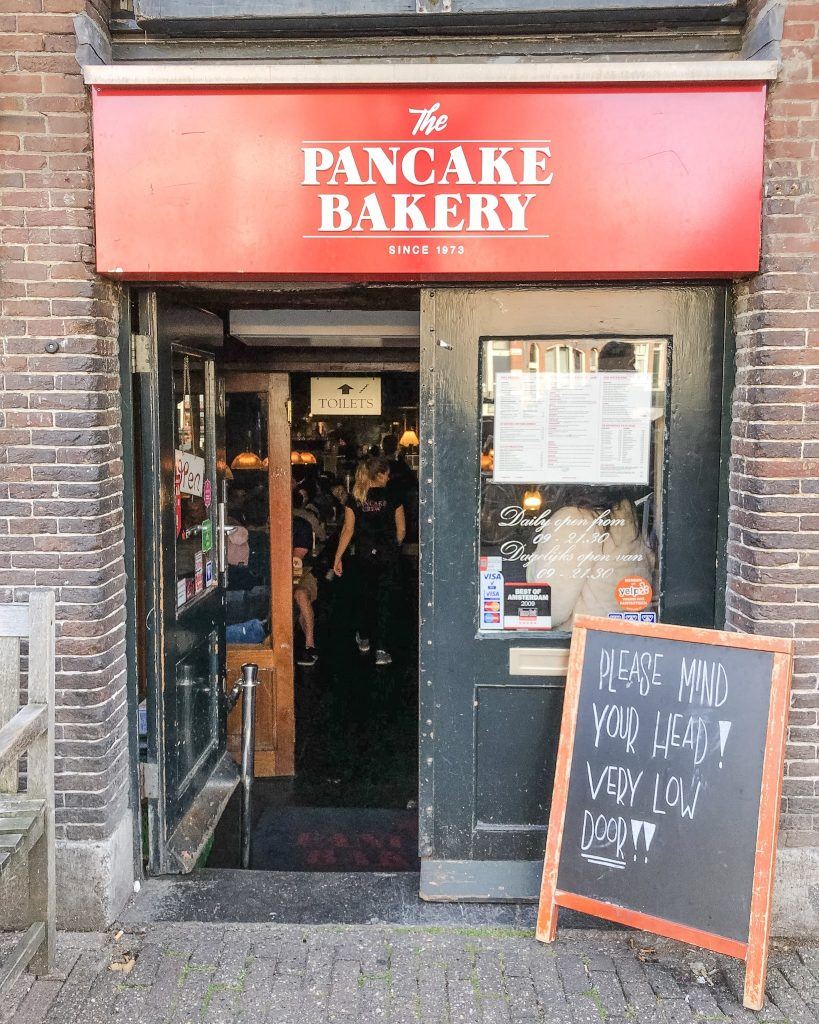 The Best Places to Eat and Drink in the City of Amsterdam. The Pancake Bakery pancake. Where to eat in Amsterdam. Where to eat lunch in Amsterdam. Where to eat breakfast in Amsterdam.