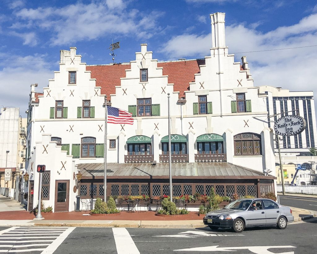 Things to do in Atlantic City in the Winter. Knife and Fork Inn. Where to eat in Atlantic City. Best Atlantic City restaurants.