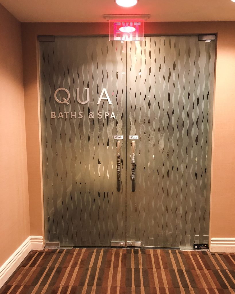 Things to do in Atlantic City in the Winter. Qua Baths & Spa. Best spas in Atlantic City. Caesars Spa.