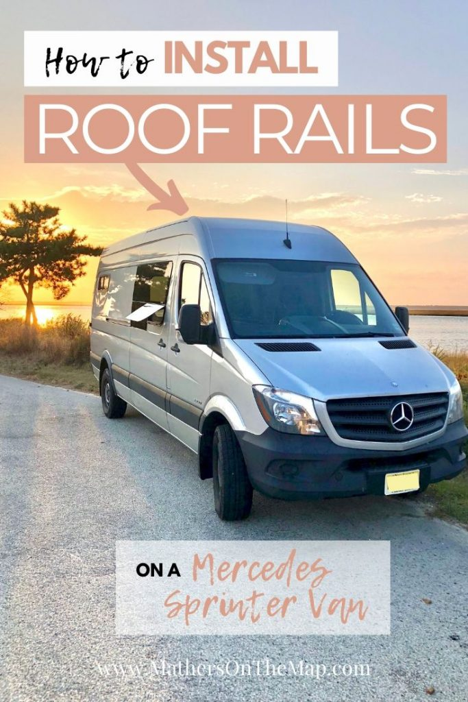 How to install roof rails on a mercedes sprinter van in 7 simple steps