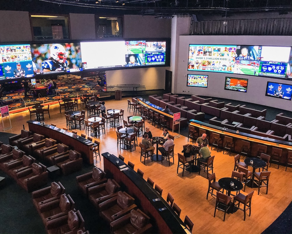 if you're visiting atlantic city in the winter do some sports betting at the ocean casino resort