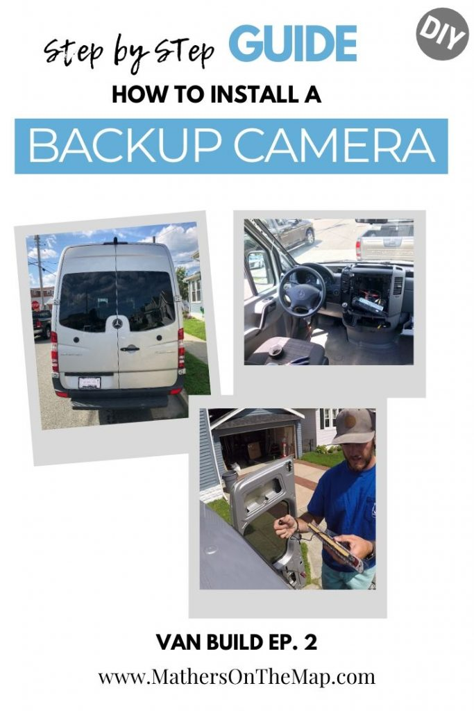 Install back up camera on sprinter van step by step