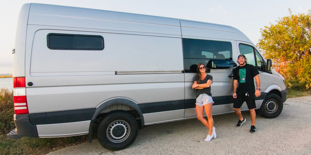 How to install a sliding door t-vent window on a sprinter van