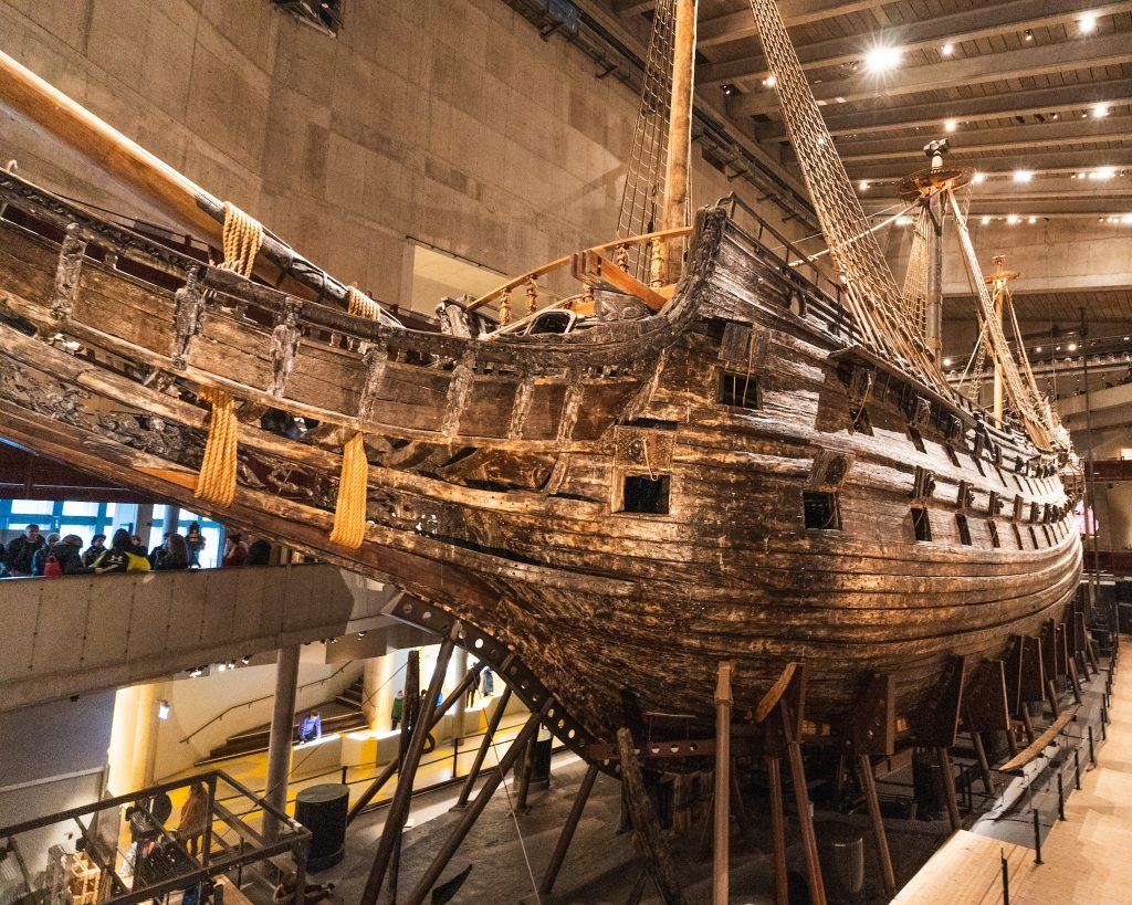 How to make the most out of two days in Stockholm. Visit the Vasa Museum. This is the oldest preserved warship!