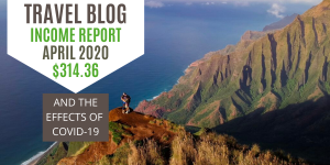 Mathers on the map April 2020 Blog Income Report