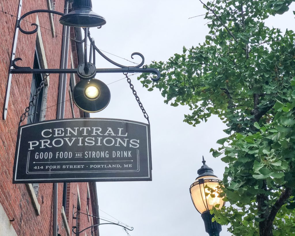 Central Provisions Portland, Maine