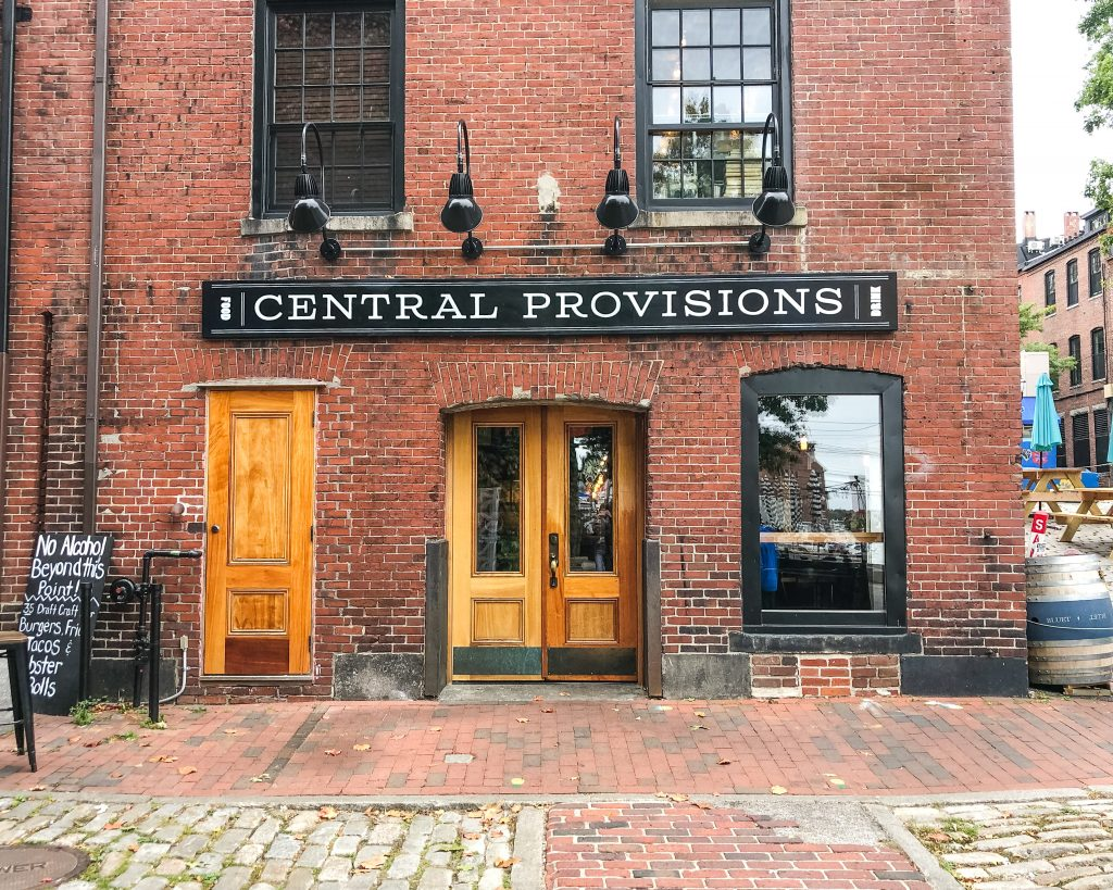 Central Provisions from Wharf Street