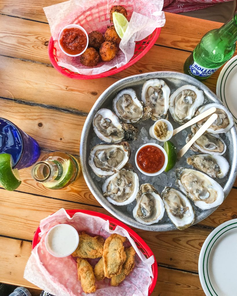 Half Shell Raw Bar Happy Hour. Where to eat in Key West. Best Happy Hour in Key West, Florida.