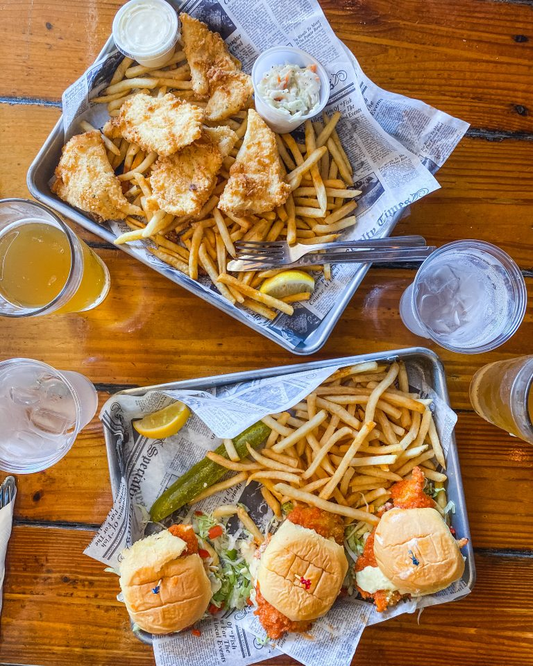 Hogfish Bar & Grill. Where to eat in Stock Island. Best seafood in Stock Island. Best bar in Stock Island. Hogfish and chips. Hogfish sliders.