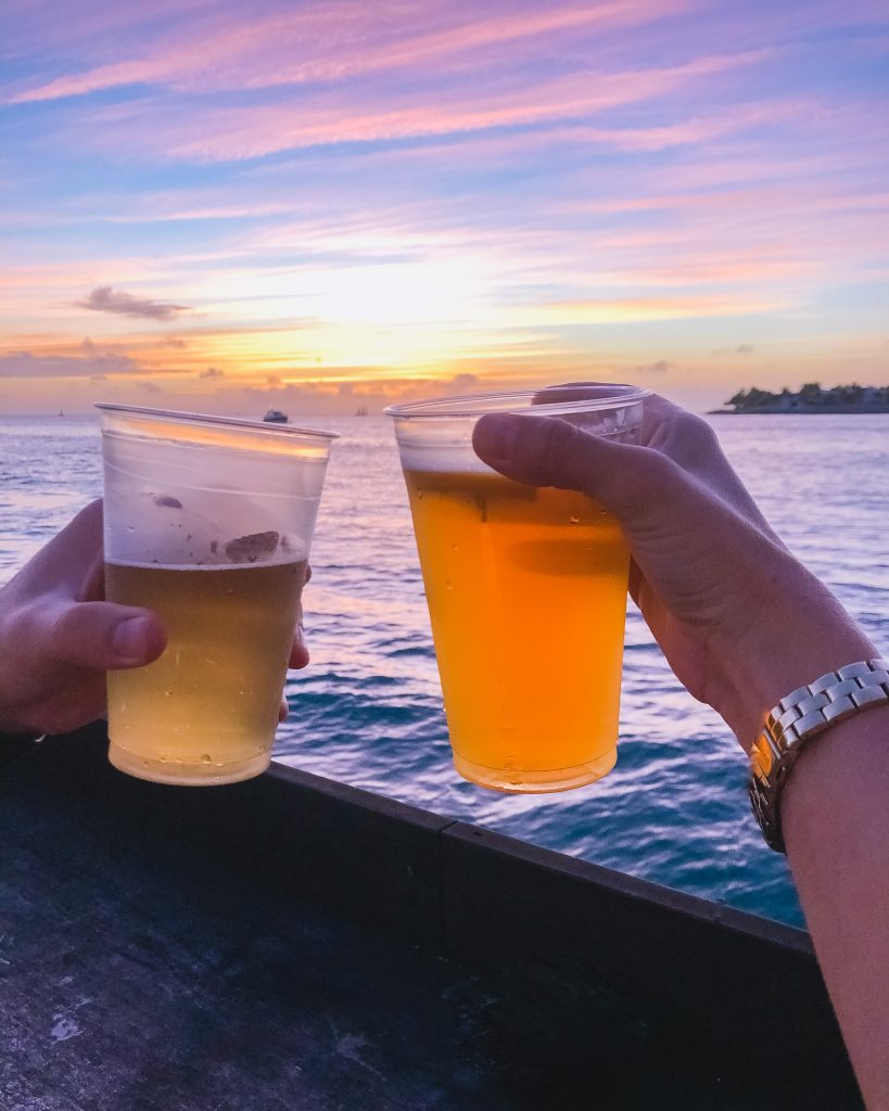 Sunset Pier. Best sunset location in Key West. Where to see the sunset in Key West. Sunset bars in Key West.