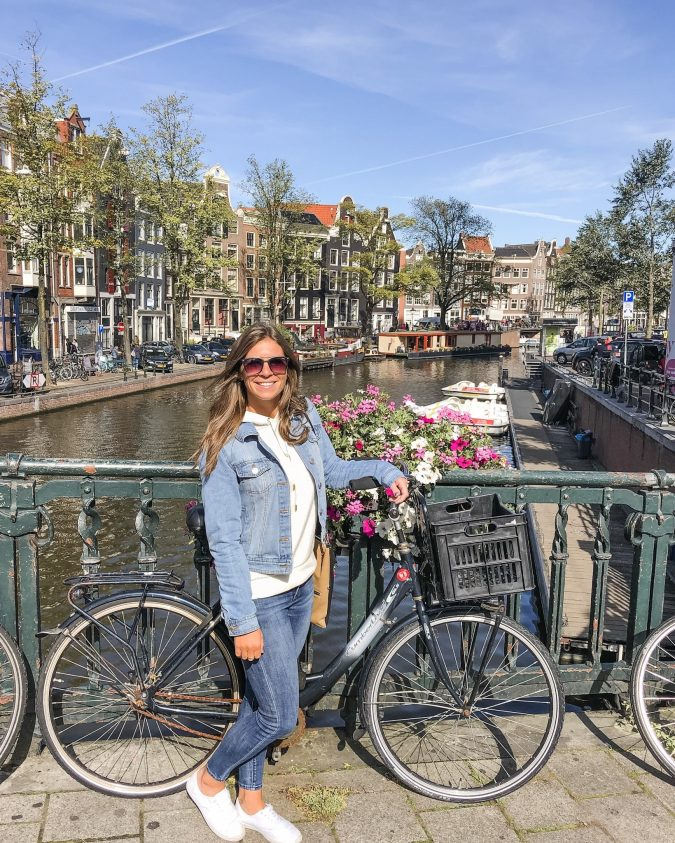 11 Best Things To See And Do in Amsterdam. See Amsterdam by Bike. What to do in Amsterdam. Where to go in Amsterdam. Biking capital of the world. How to get around Amsterdam.