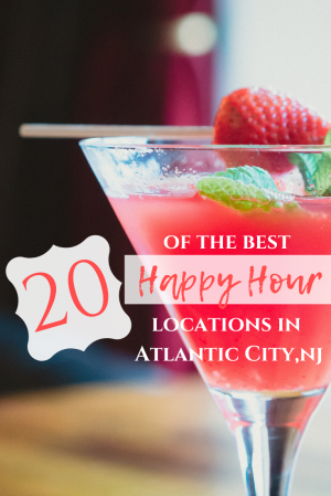 20 of the Best Happy Hours in Atlantic City. Dock's Oyster House, Knife and Fork Inn, Chickie's & Pete's, Carmine's, Los Amigos, Harry's Oyster Bar & Seafood, Guy Fieri's Chophouse. Where to eat in Atlantic City.
