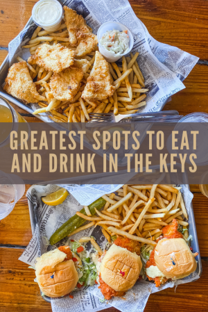 Greatest Spots To Eat And Drink In The Keys. Best Places to Eat in Key West, Florida. Where to go in Key West Florida.