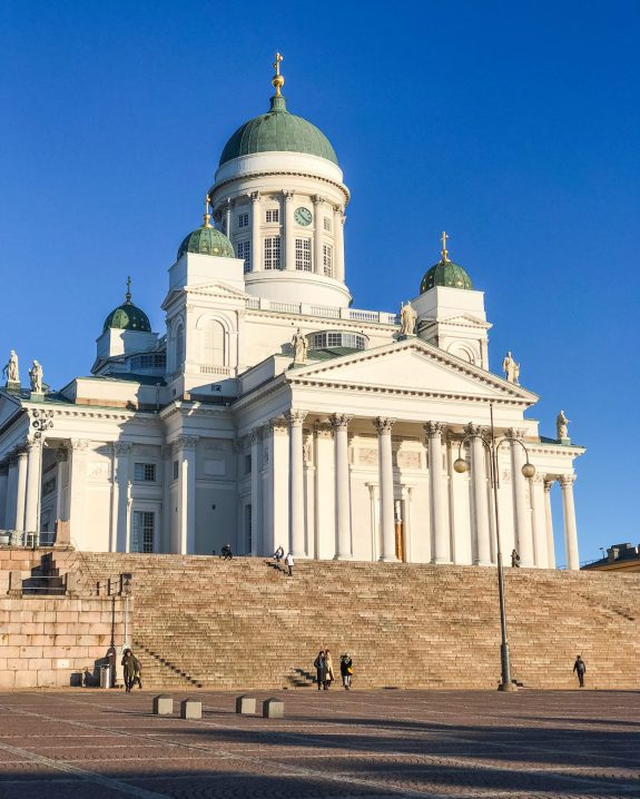 Helsinki Cathedral. One Day in Helsinki Finland: What to do – with Video! What to do in Helsinki. One day in Helsinki. SkyWheel Helsinki. Market Square. Deli Deli. Cafe Regatta. Loyly. Allas Sea Pool.