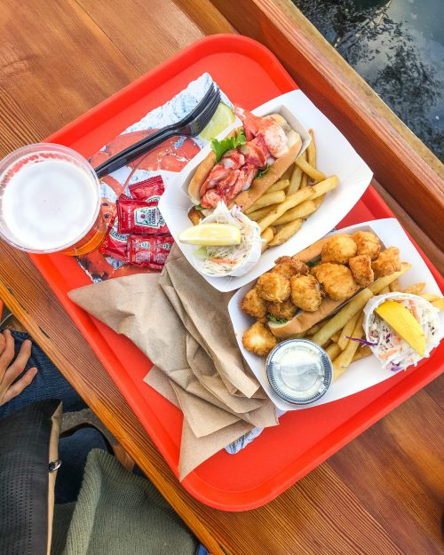 Portland Lobster Co. food in Portland, Maine