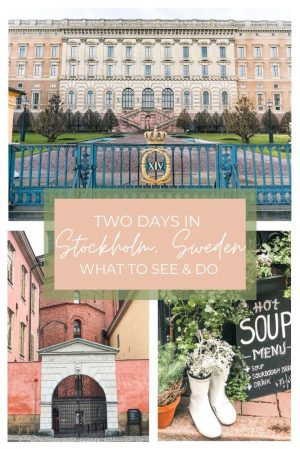 Top Things to Do in Stockholm Sweden in Two Days. What to see and do while visiting Stockholm. Stockholm's top tourist destinations in the city.