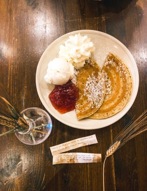 Top things to do in Stockholm in two days. Sara's Art and Coffee is a cute cafe located in Gamla Stan. This cafe also sells mouth-watering Swedish pancakes.