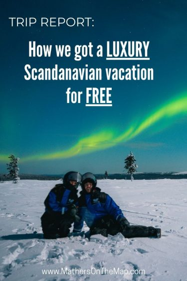 trip report how we got a luxury scandanavian vacation for free